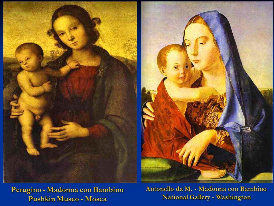 Perugino - Madonna con Bambino Pushkin Museo - Mosca