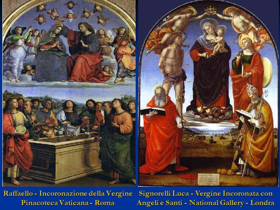 Raffaello - Incoronazione della Vergine Pinacoteca Vaticana - Roma