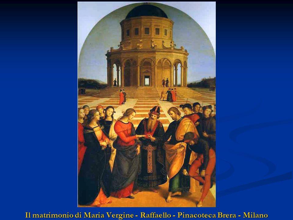 Il matrimonio di Maria Vergine - Raffaello - Pinacoteca Brera - Milano