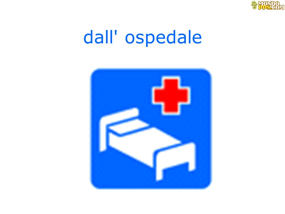 dall ospedale