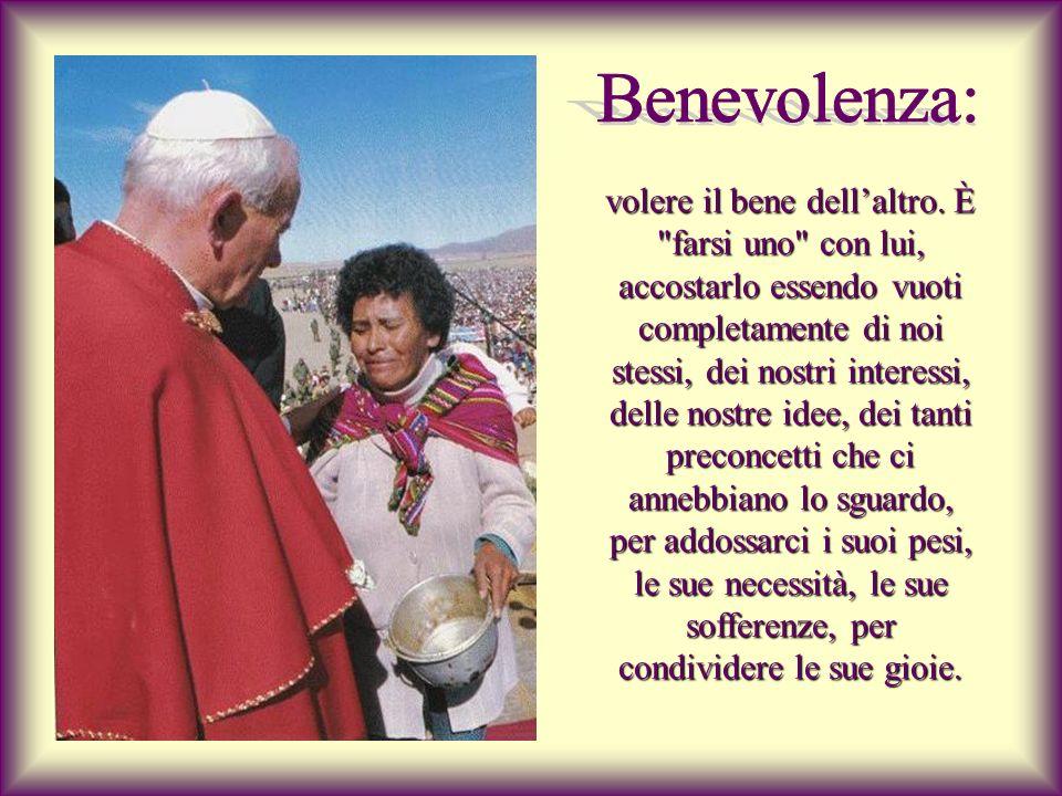 Benevolenza: