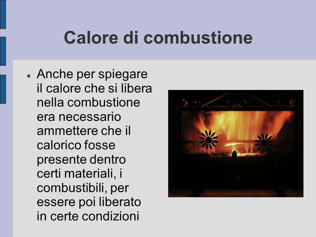 Calore di combustione