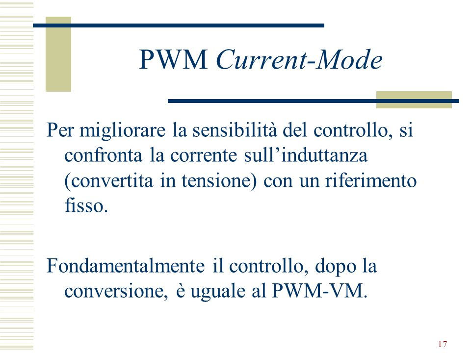 PWM Current-Mode