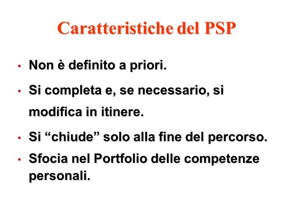 Caratteristiche del PSP