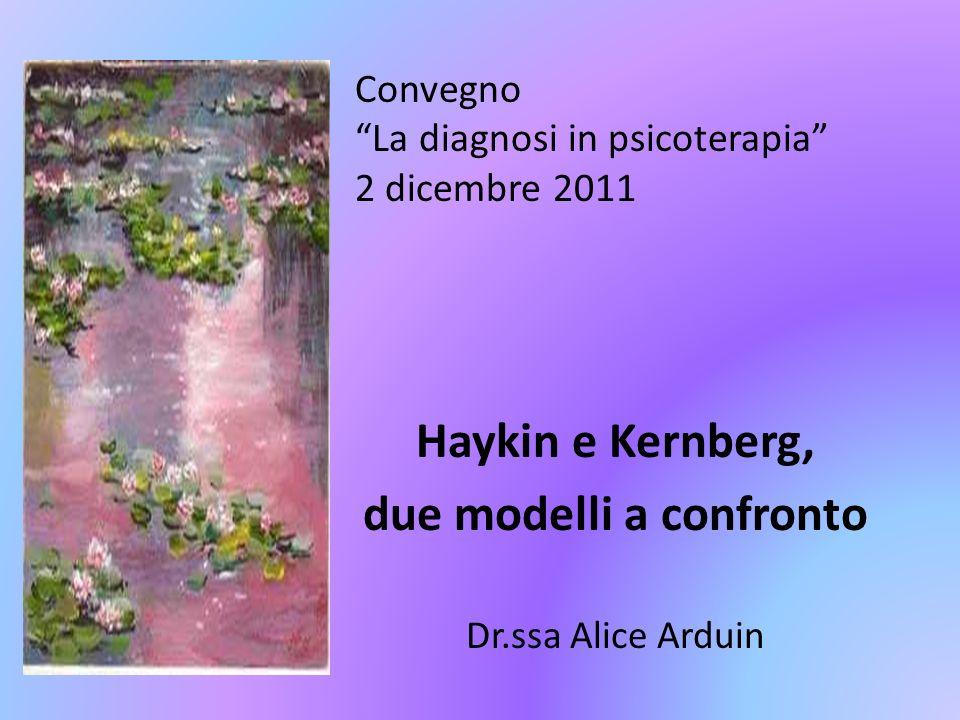 Convegno La diagnosi in psicoterapia 2 dicembre 2011