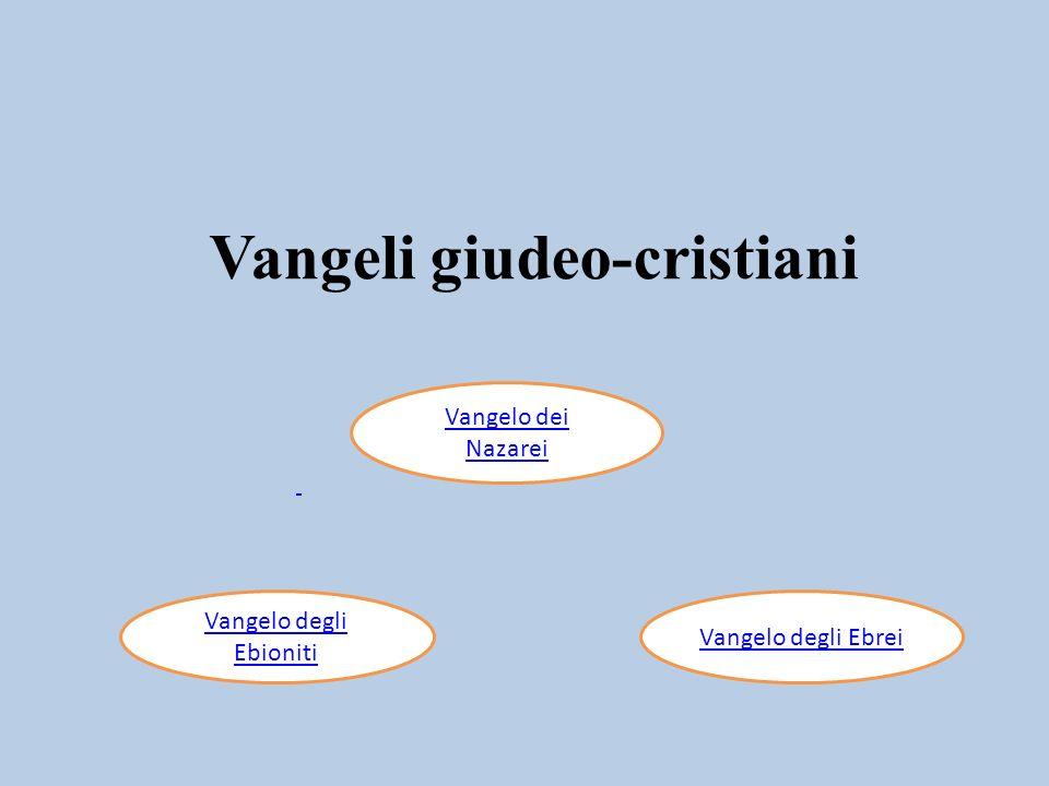Vangeli giudeo-cristiani