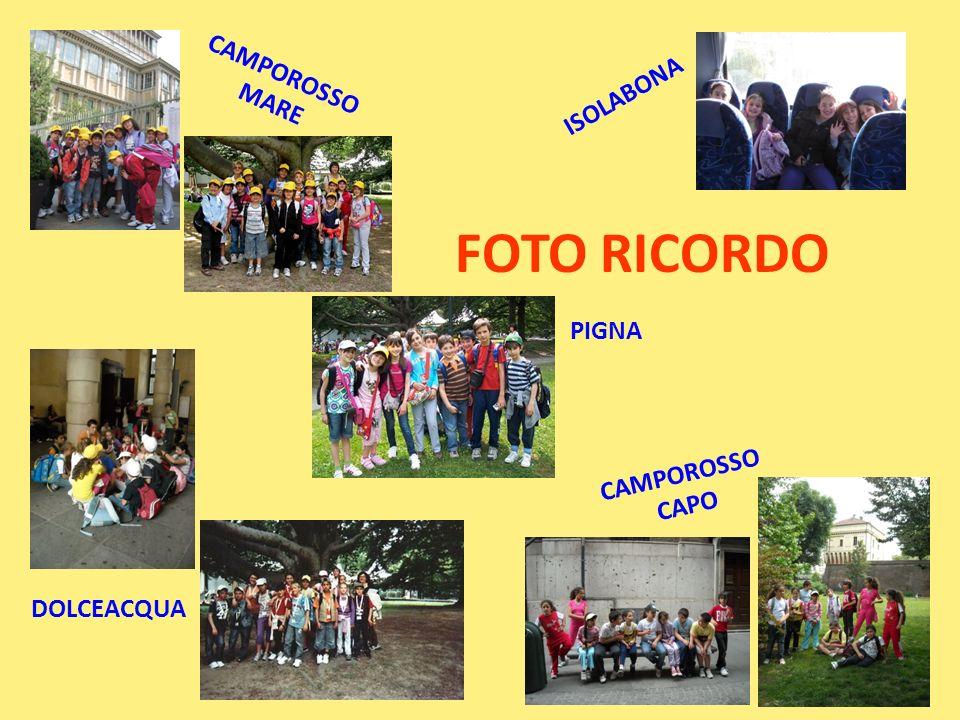 FOTO RICORDO CAMPOROSSO MARE ISOLABONA PIGNA CAMPOROSSO CAPO