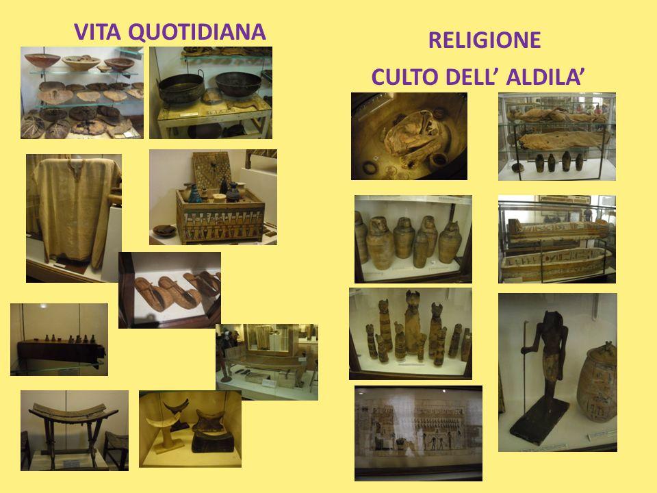 RELIGIONE CULTO DELL' ALDILA'