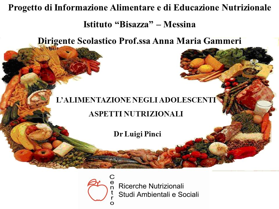 Progetto di Informazione Alimentare e di Educazione Nutrizionale