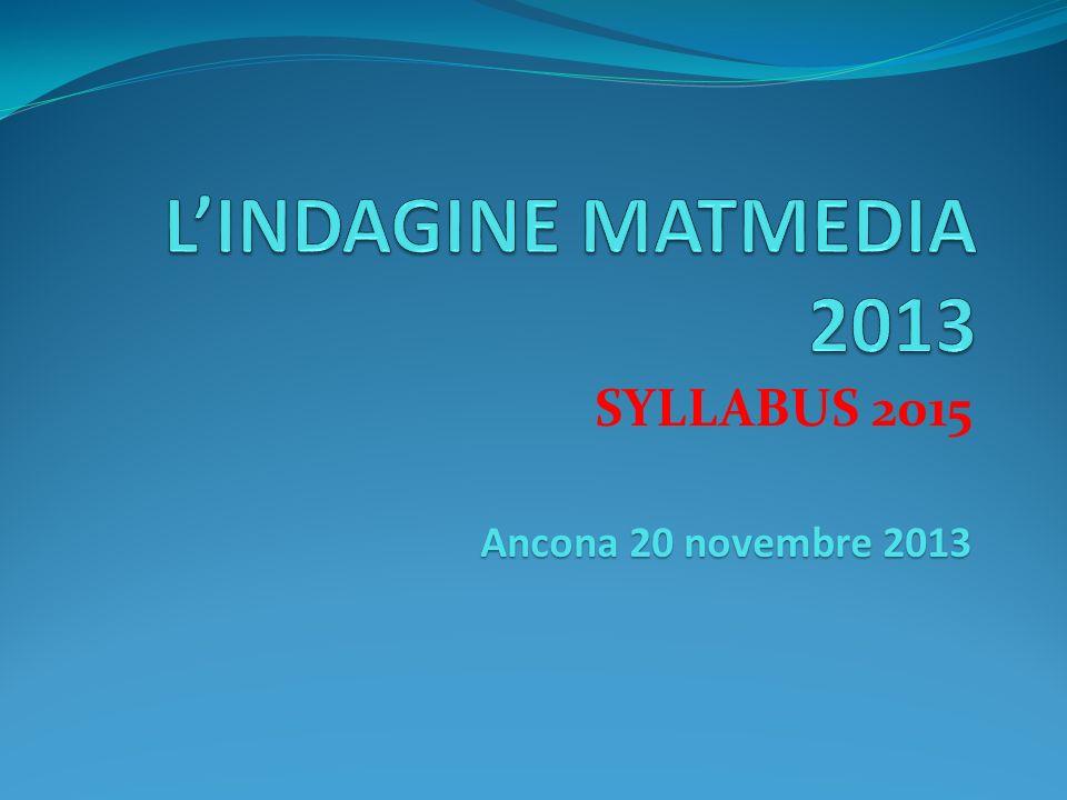 SYLLABUS 2015 Ancona 20 novembre 2013