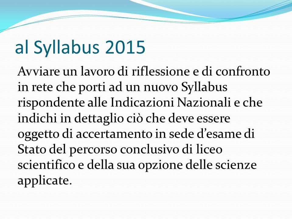 al Syllabus 2015
