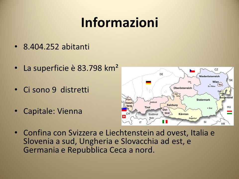 Informazioni 8.404.252 abitanti La superficie è 83.798 km²