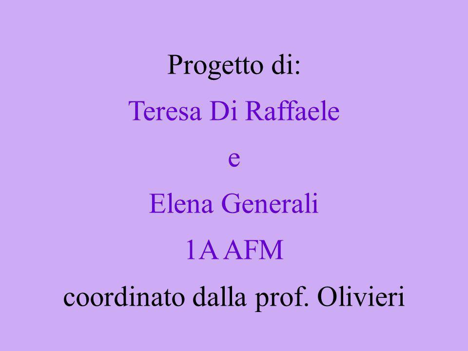 coordinato dalla prof. Olivieri