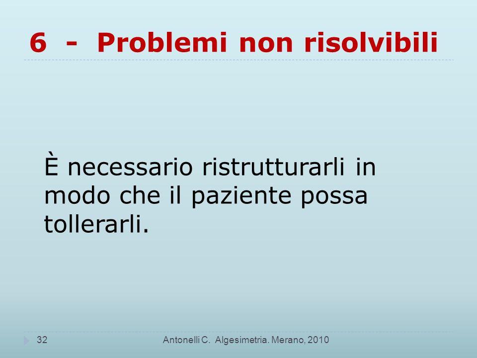 6 - Problemi non risolvibili
