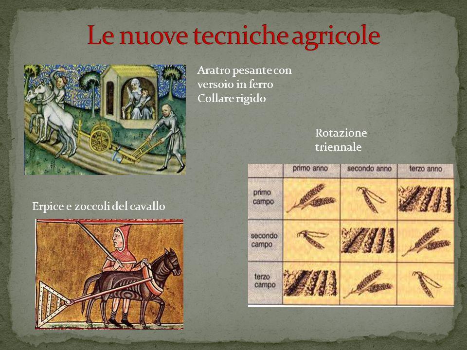 Le nuove tecniche agricole
