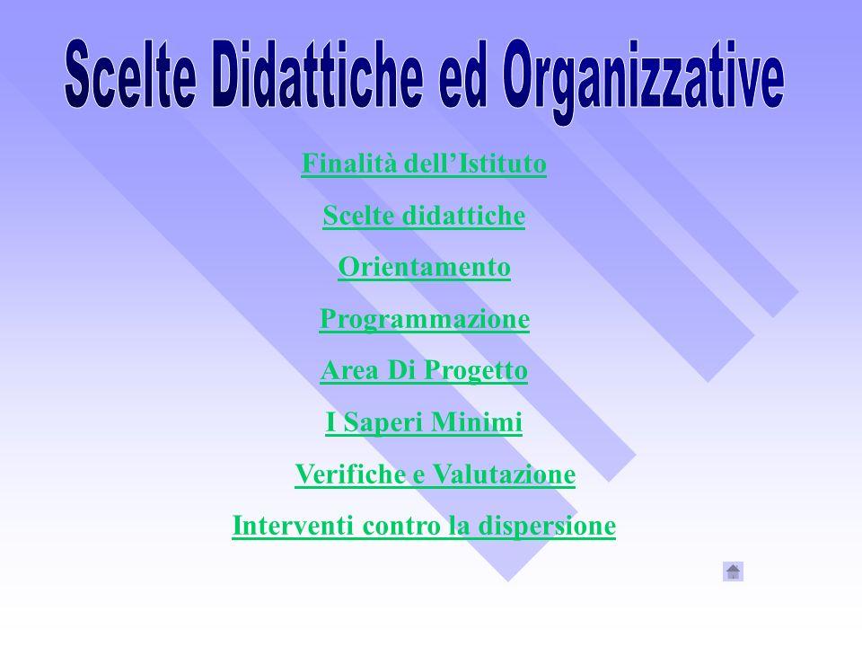 Scelte Didattiche ed Organizzative