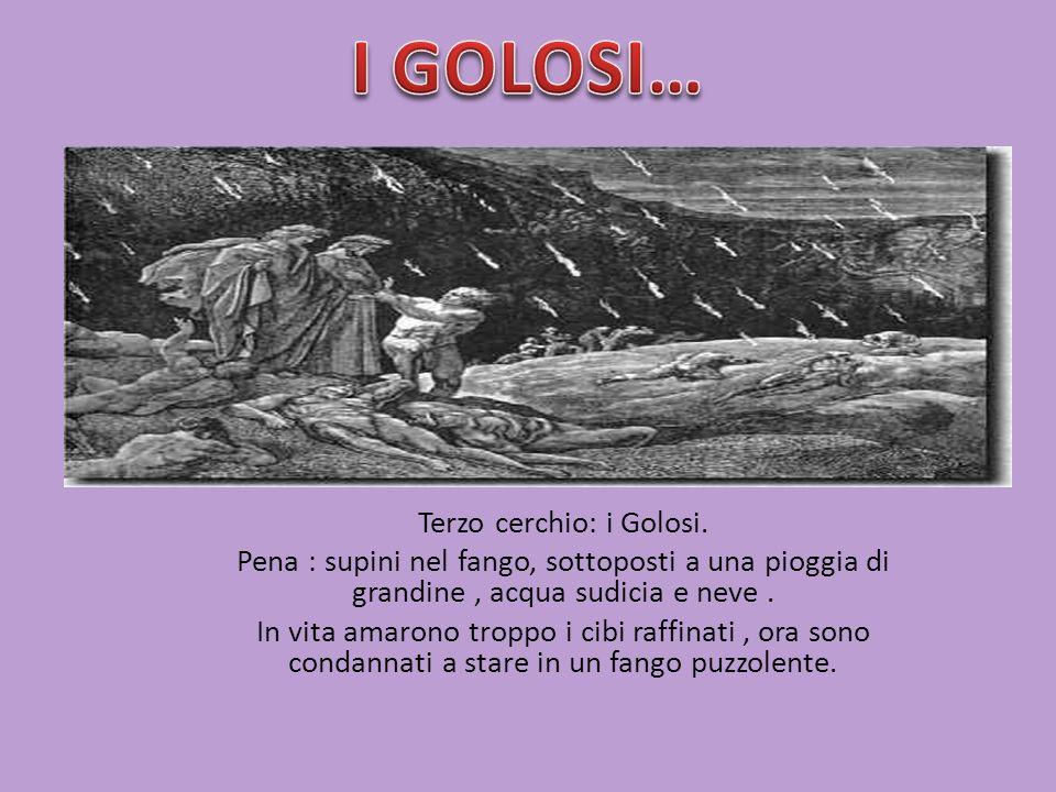Terzo cerchio: i Golosi.