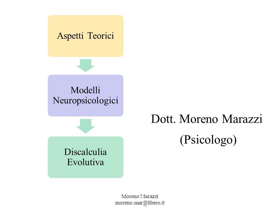 Dott. Moreno Marazzi (Psicologo) CENTRTR F.A.R.E.