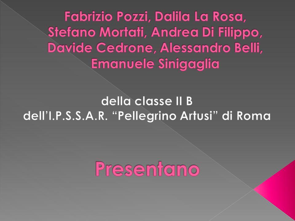 della classe II B dell'I.P.S.S.A.R. Pellegrino Artusi di Roma