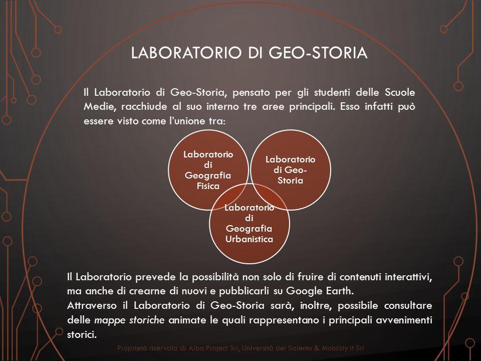 Laboratorio di GEO-STORIA