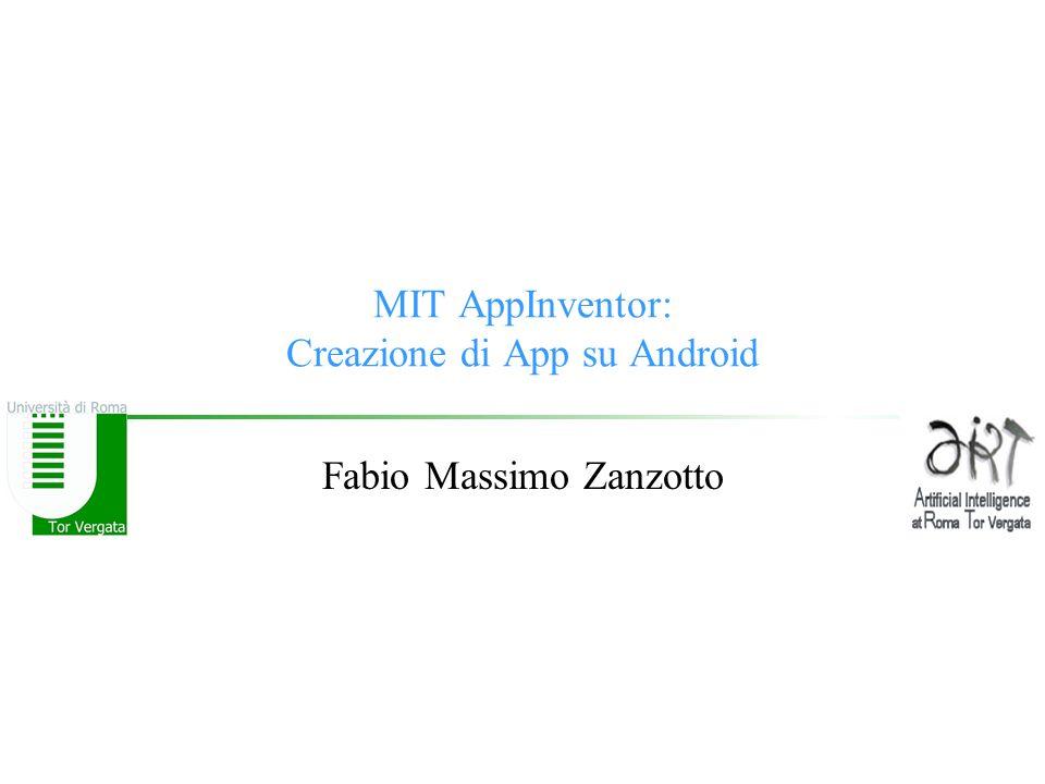 MIT AppInventor: Creazione di App su Android