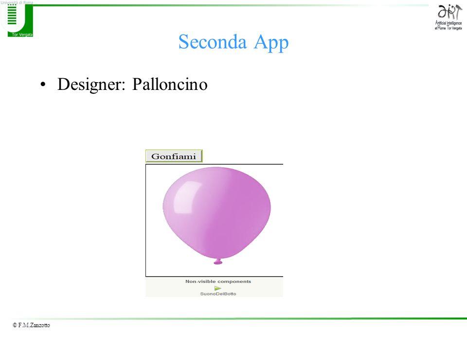 Seconda App Designer: Palloncino
