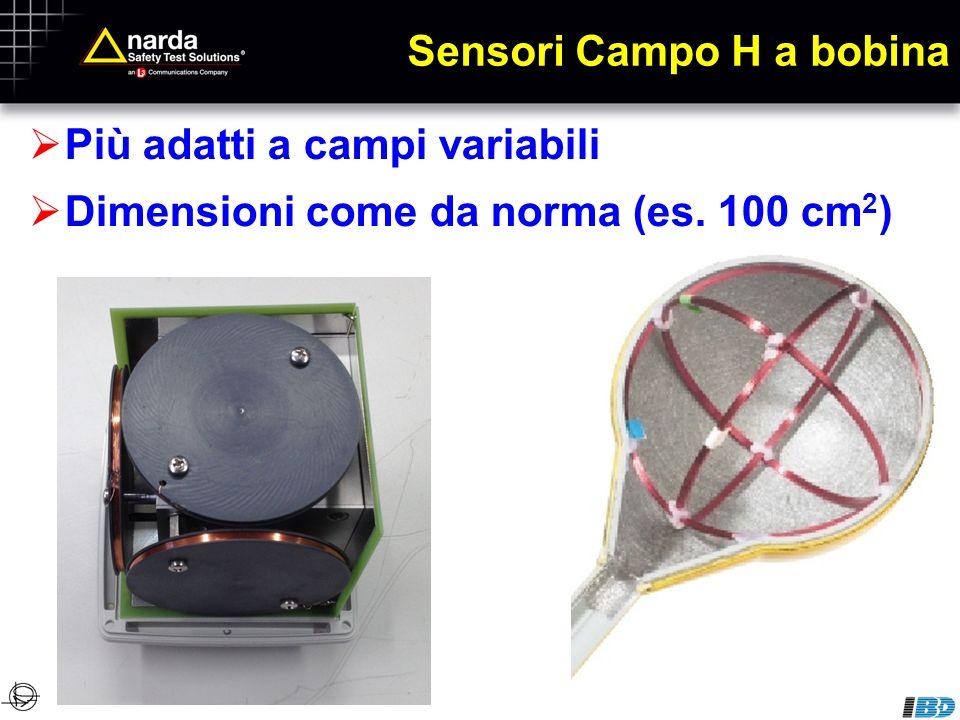 Sensori Campo H a bobina