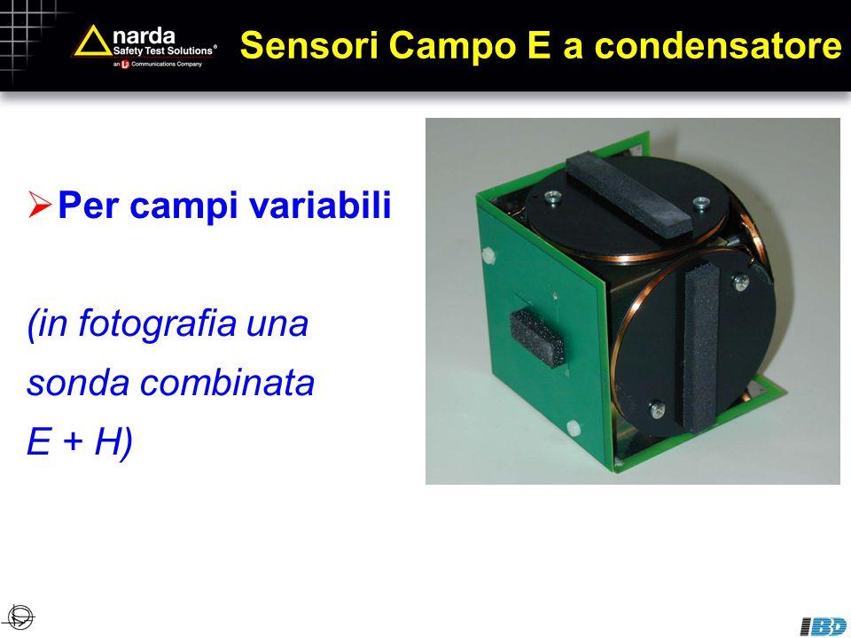 Sensori Campo E a condensatore
