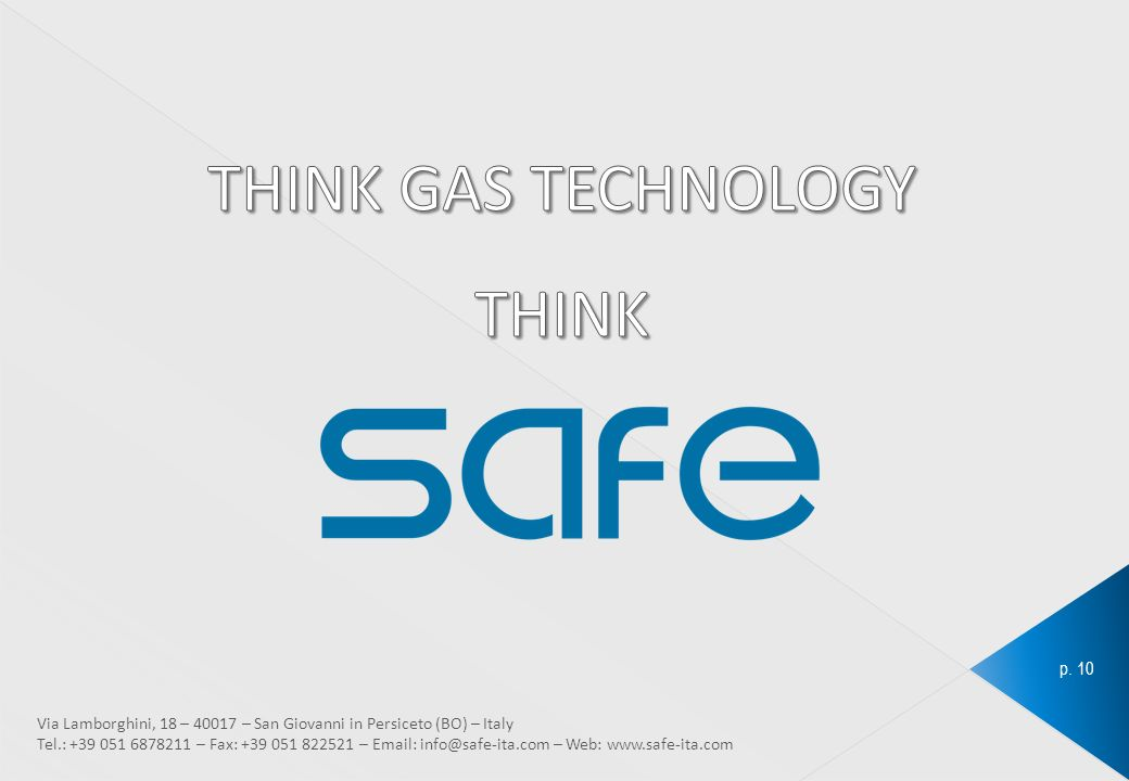 THINK GAS TECHNOLOGY THINK