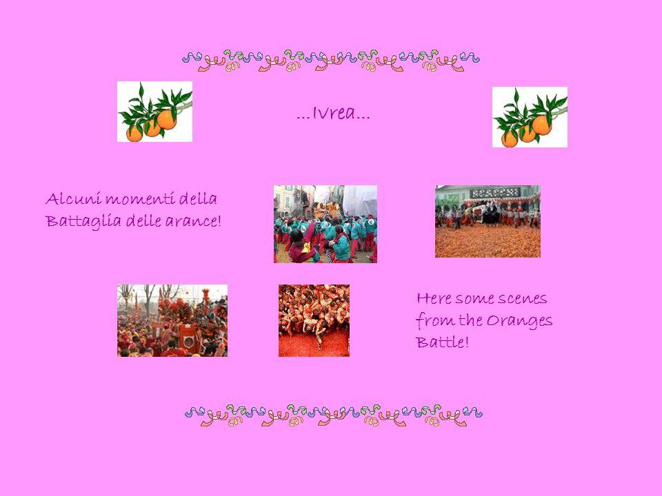 …Ivrea… Alcuni momenti della Battaglia delle arance! Here some scenes from the Oranges Battle!