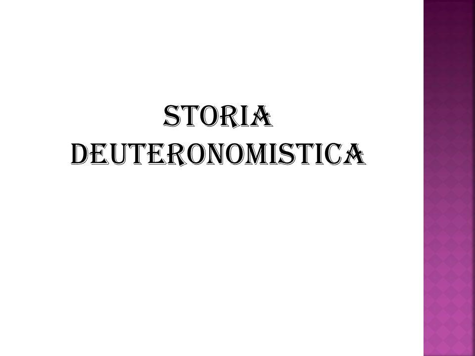 Storia deuteronomistica