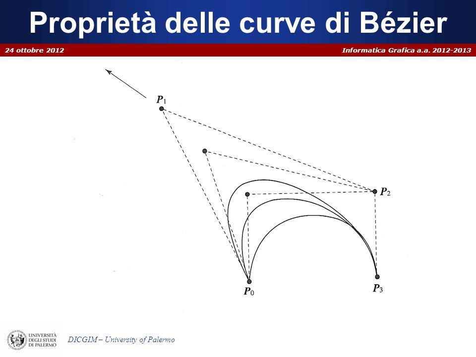 Proprietà delle curve di Bézier