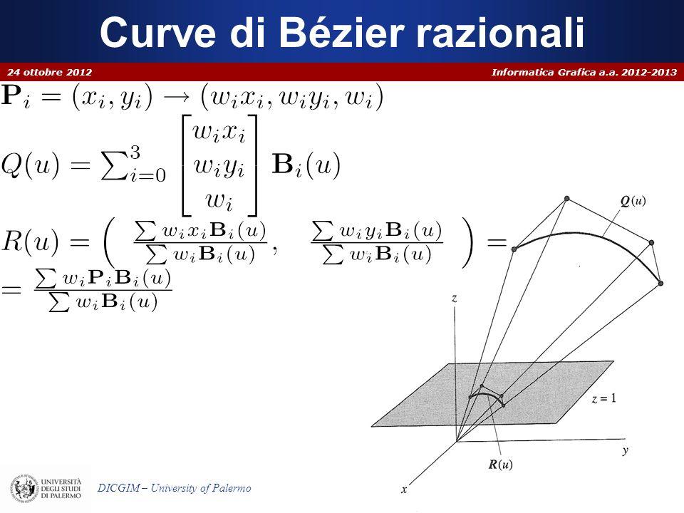 Curve di Bézier razionali