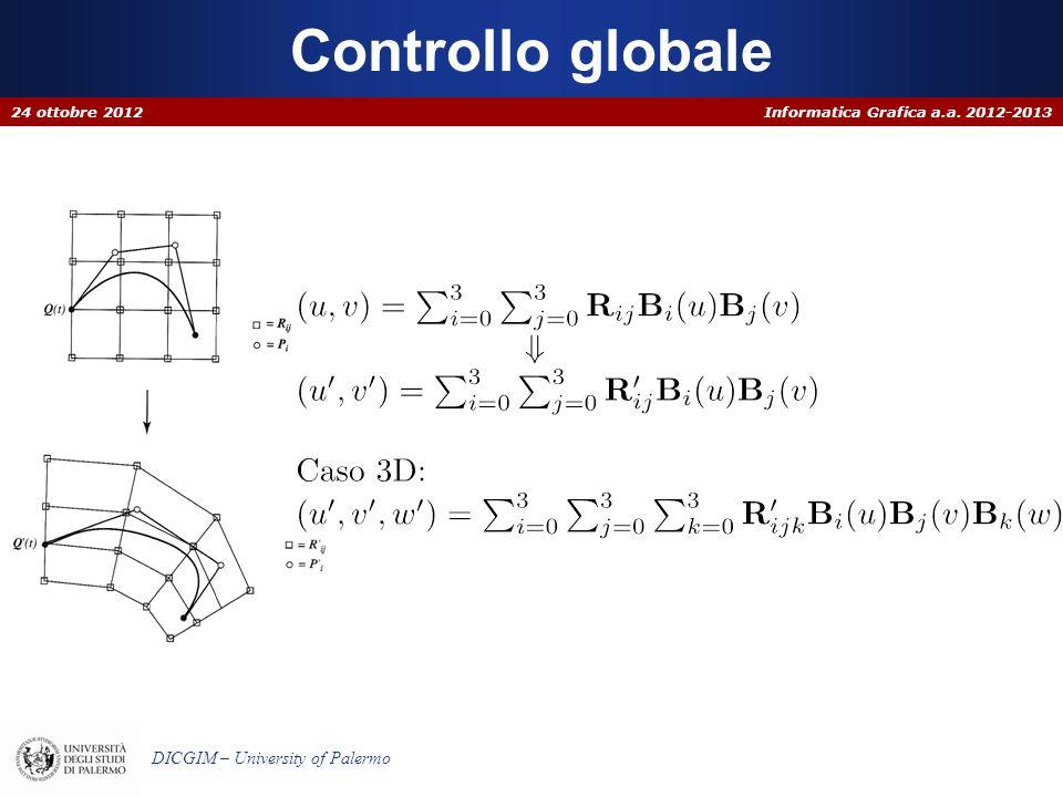 Controllo globale 24 ottobre 2012