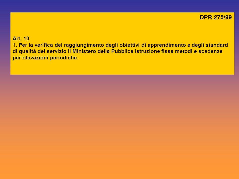 DPR.275/99 Art. 10.