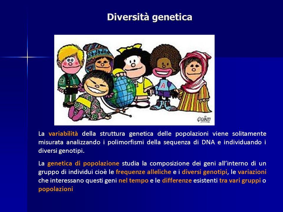 Diversità genetica