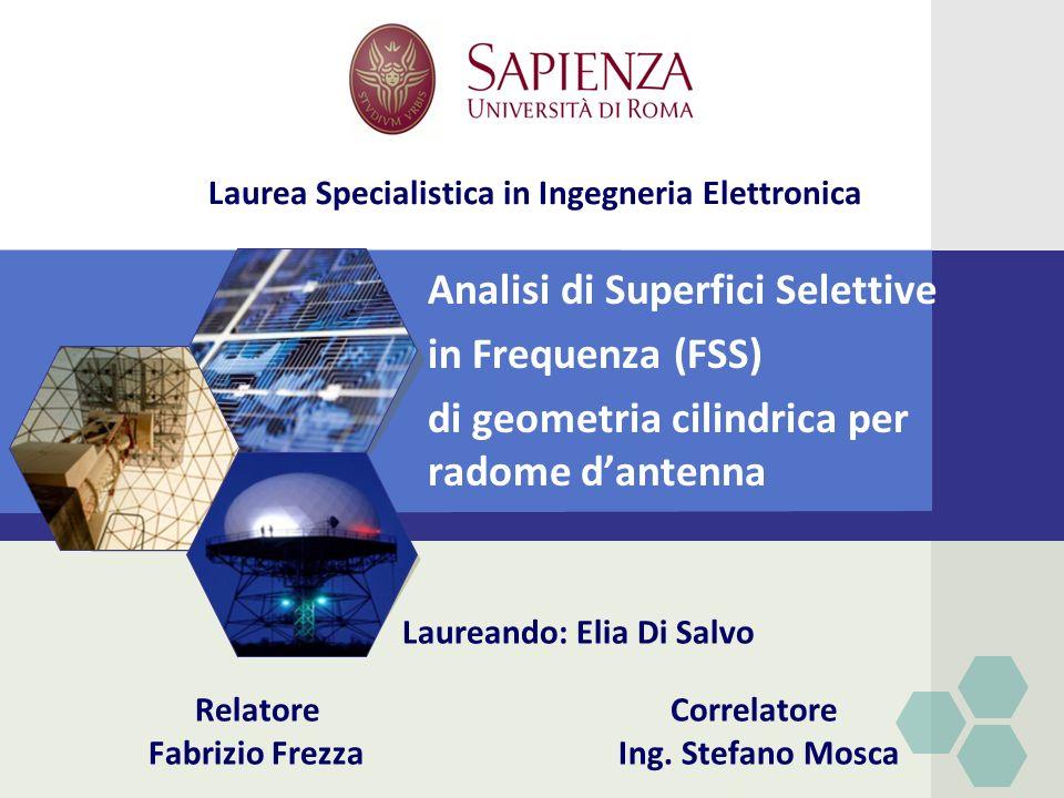 Laurea Specialistica in Ingegneria Elettronica