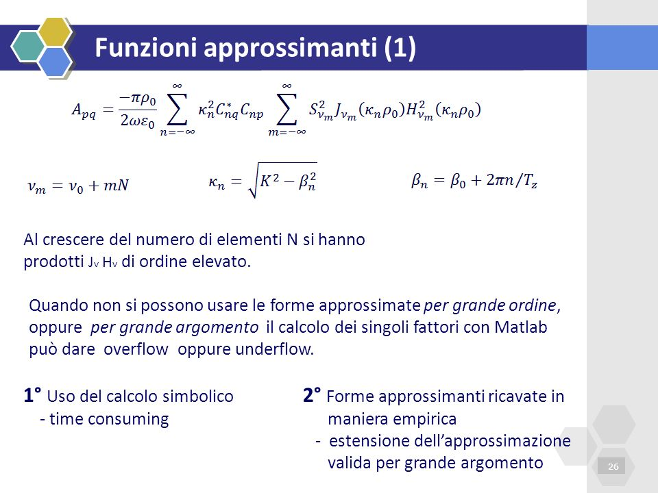 Funzioni approssimanti (1)