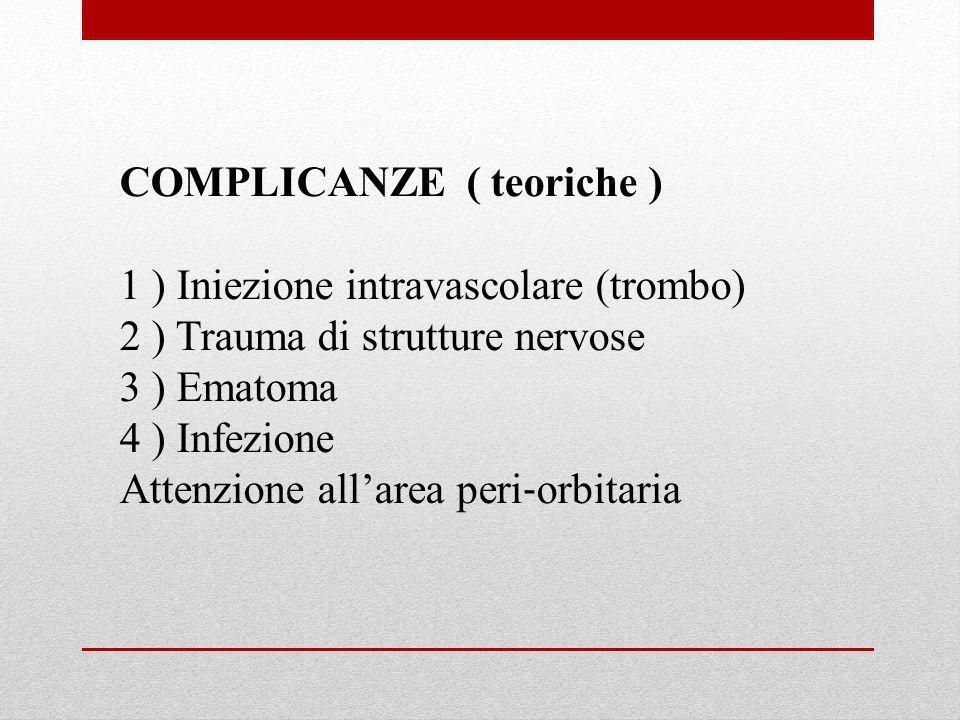 COMPLICANZE ( teoriche )