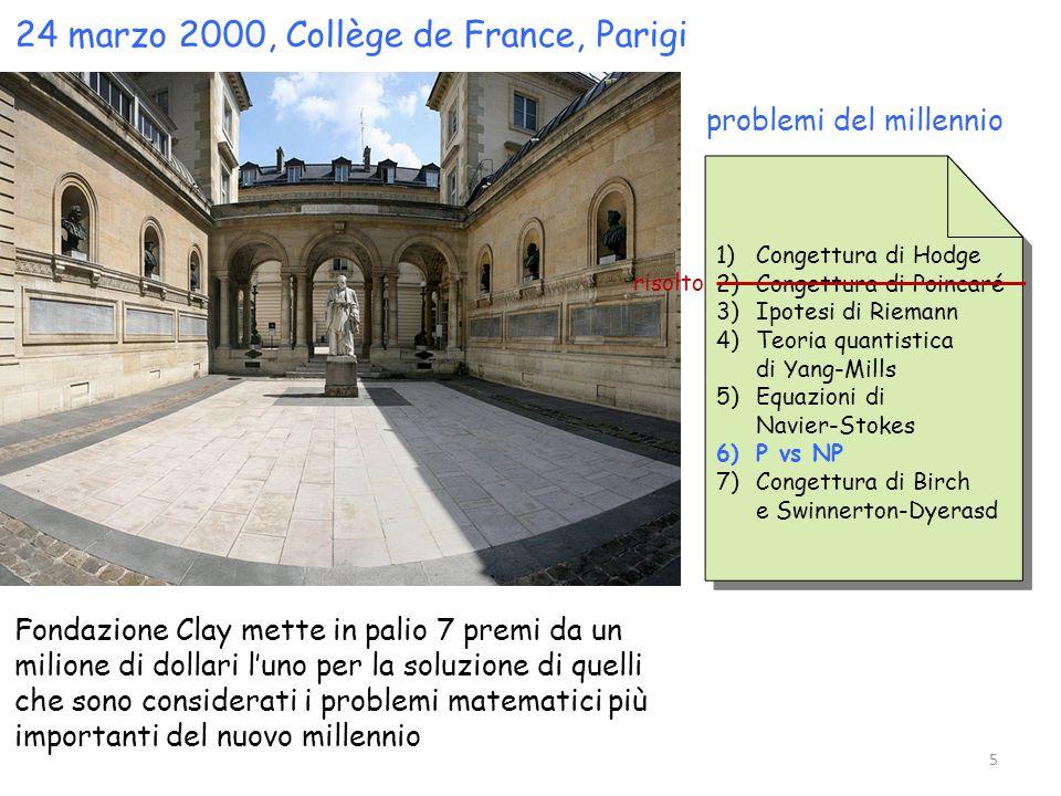 24 marzo 2000, Collège de France, Parigi