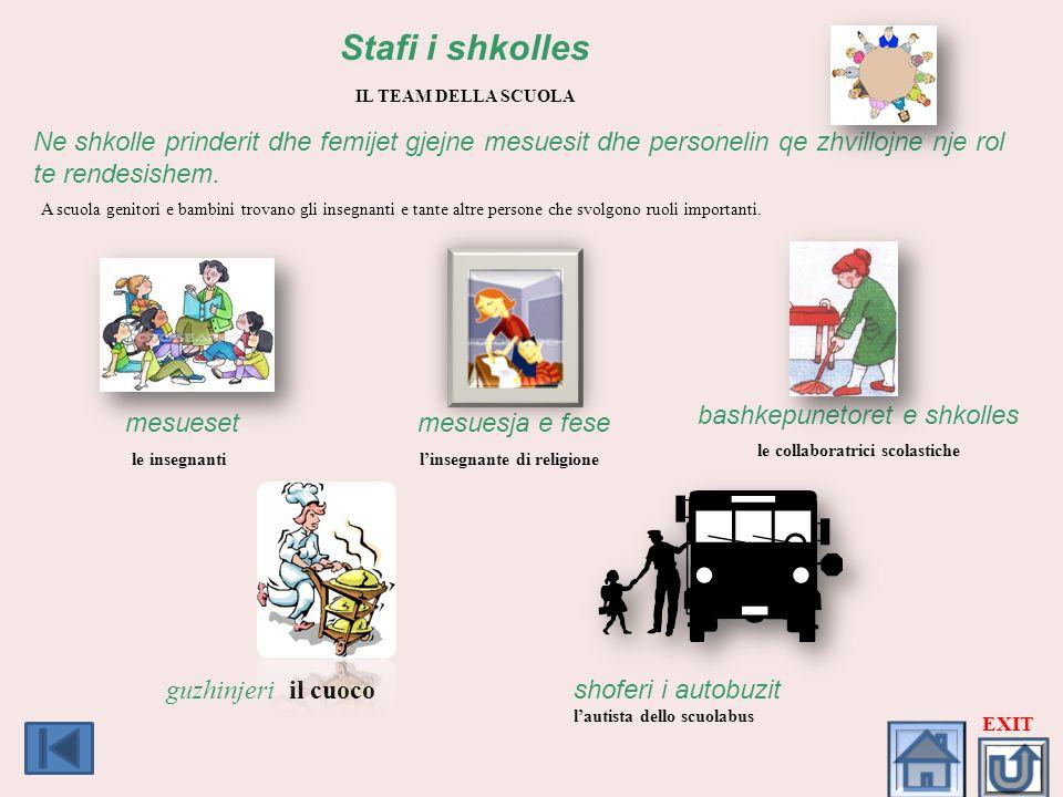 le collaboratrici scolastiche