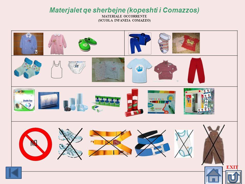 Materjalet qe sherbejne (kopeshti i Comazzos)
