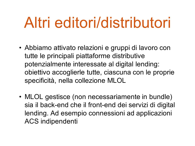 Altri editori/distributori