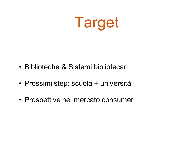 Target Biblioteche & Sistemi bibliotecari