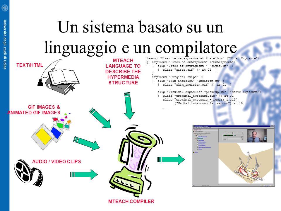 Un sistema basato su un linguaggio e un compilatore
