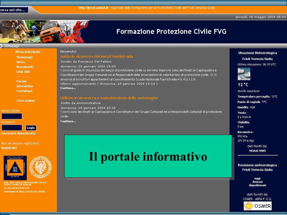 Il portale informativo