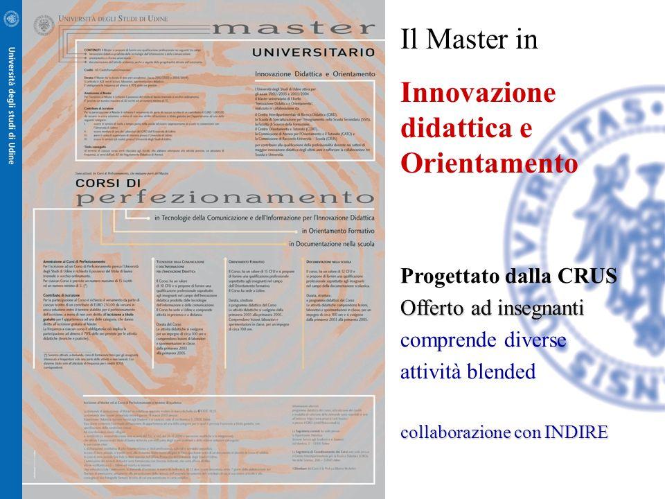 Innovazione didattica e Orientamento