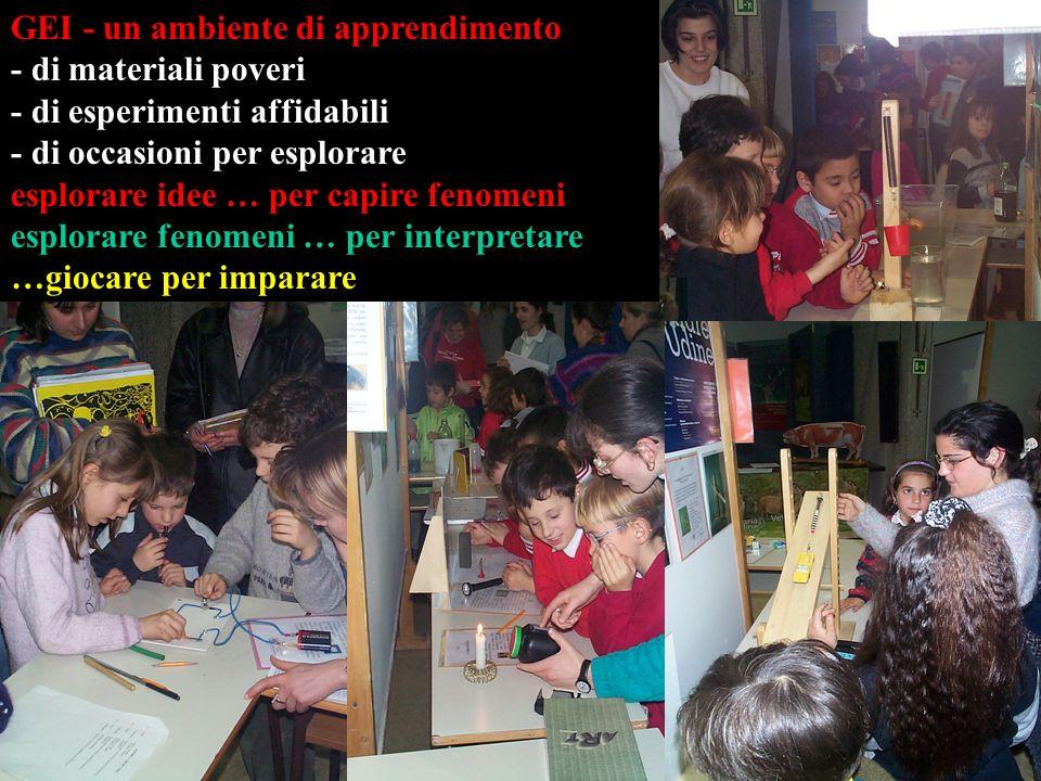GEI - un ambiente di apprendimento