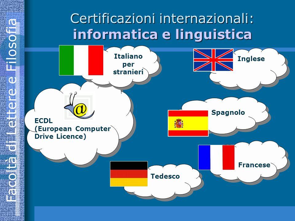 Certificazioni internazionali: informatica e linguistica