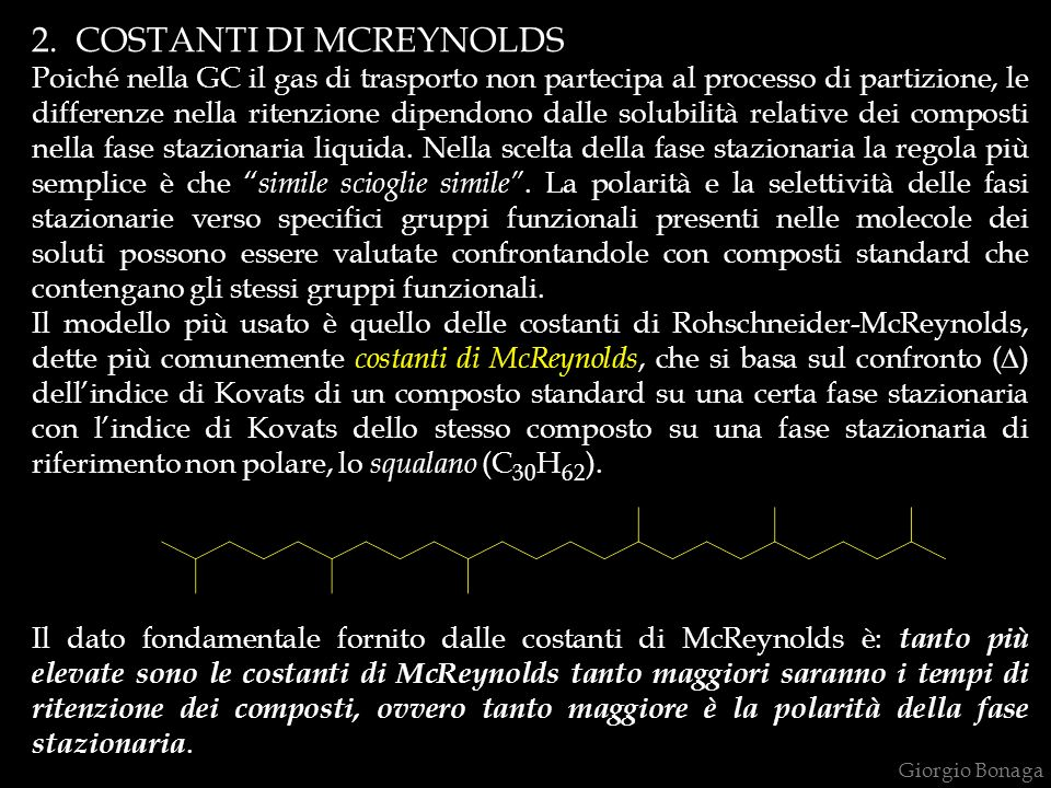 2. COSTANTI DI MCREYNOLDS
